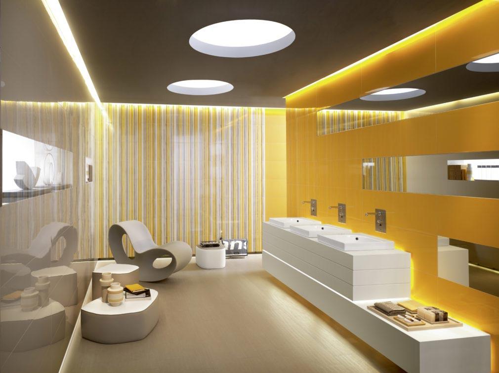 дизайн современной ванной комнаты-варианты
