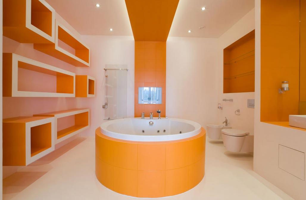 дизайн ванной в современном стиле