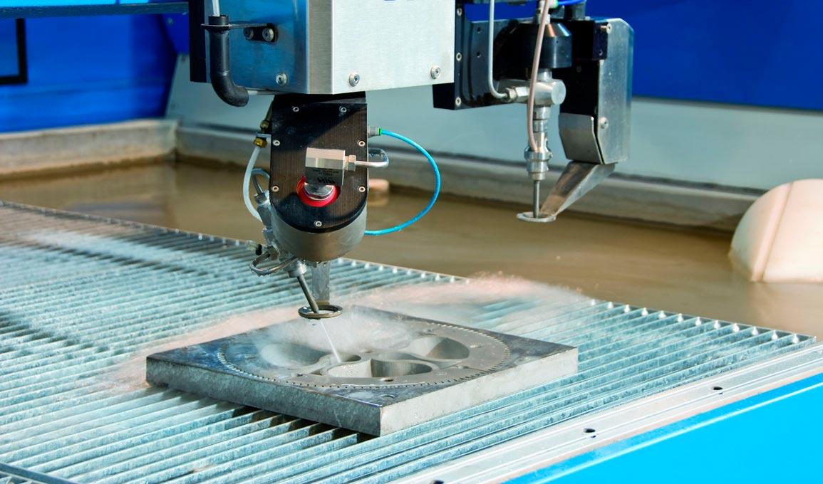 Гидроабразивная установка для резки плитки