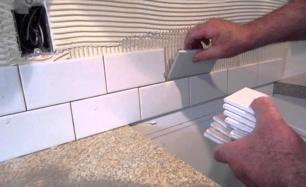 Инструкция по укладке кухонного фартука