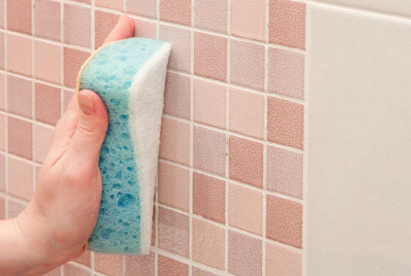 как просто отмыть плитку в ванной
