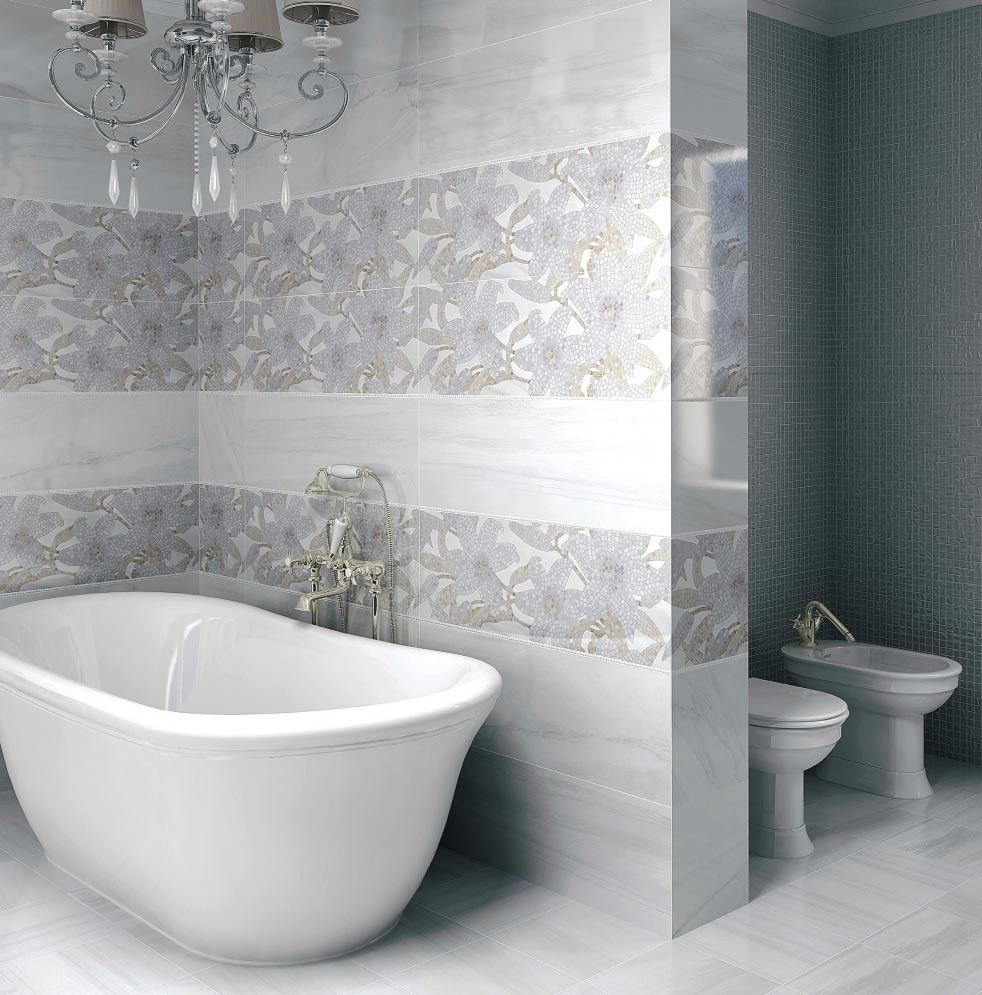 Керама Марацци для ванной-дизайн
