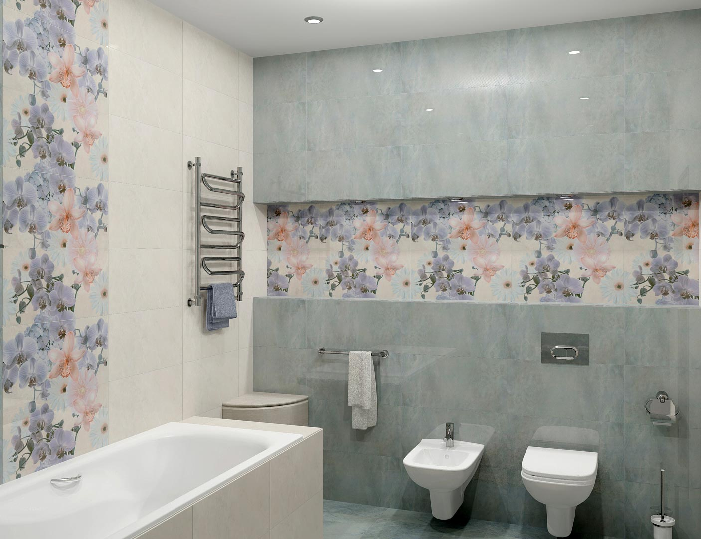 керама марацци для ванной-пример