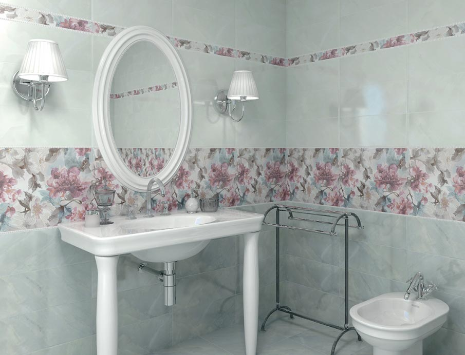 керама марацци для ванной-дизайн, пример