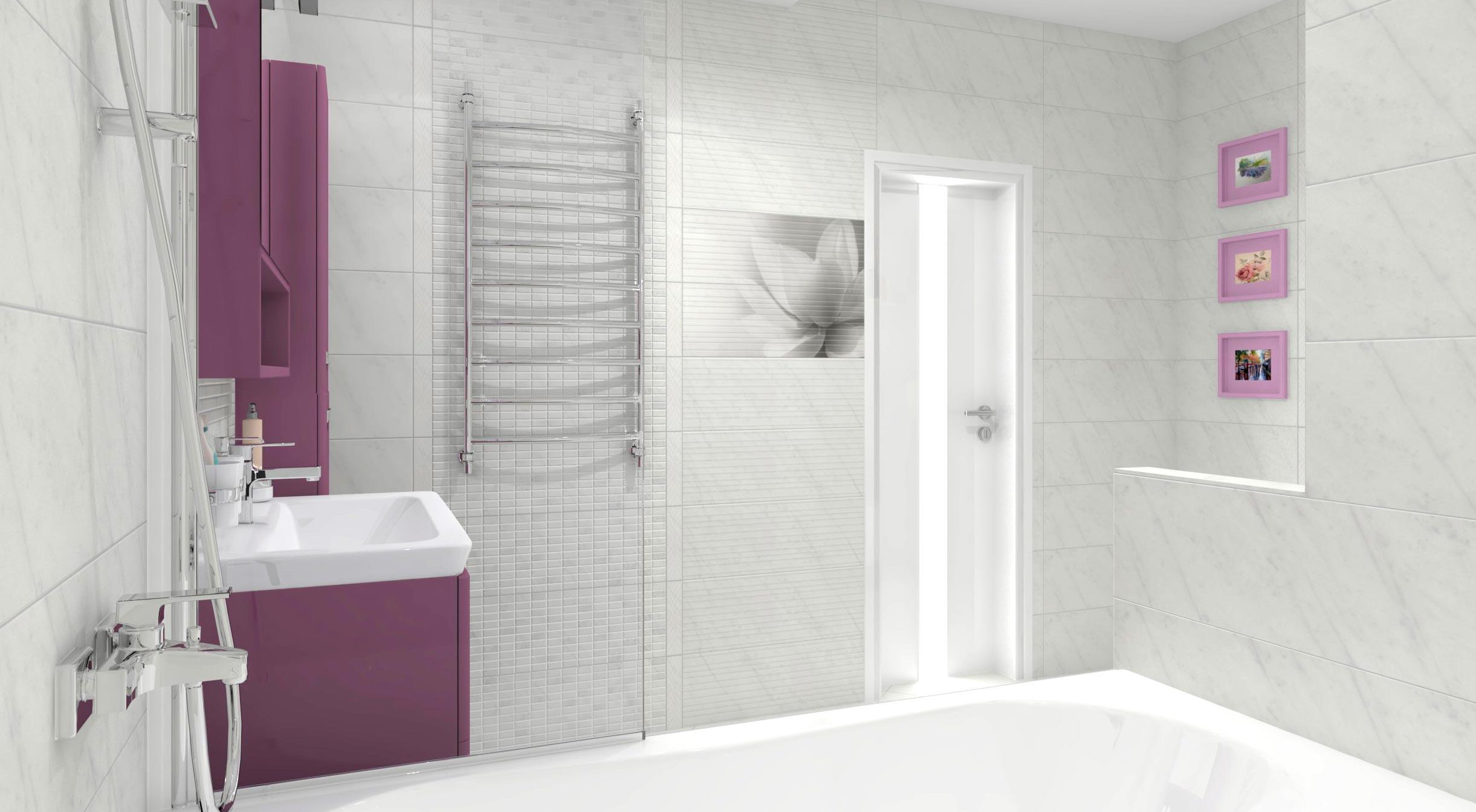 керама марацци для ванной-удачный дизайн