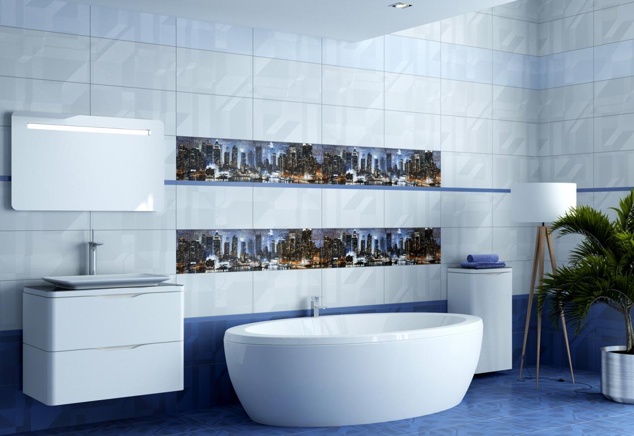 керамическая плитка для ванной-дизайн