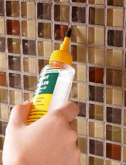 клей для плитки мозаики