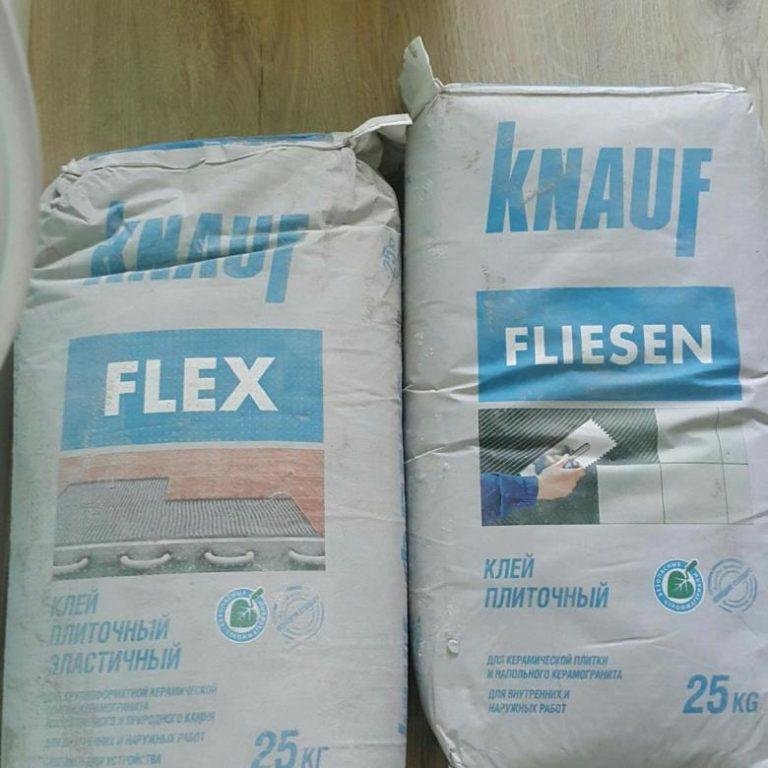 Плиточный клей Кнауф Флизен (Knauf Fliesen): особенности применения