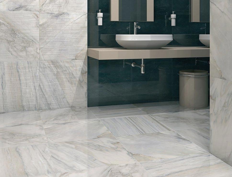 лаппатированный керамический гранит керама марацци для ванной-дизайн