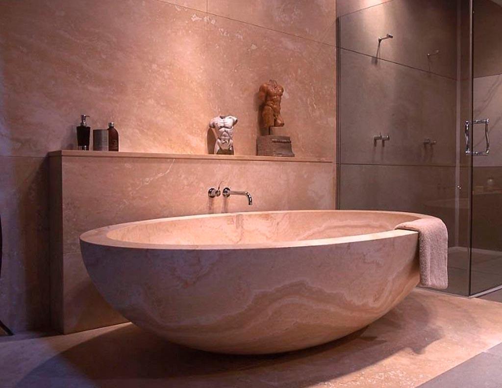 Литьевой мрамор для ванной