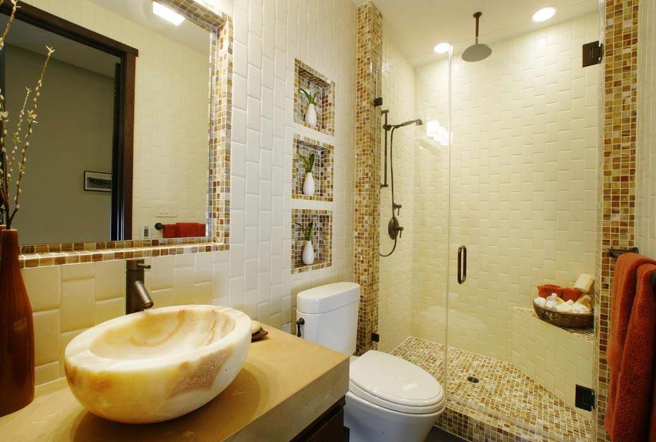 маленькая ванная мозаика 2