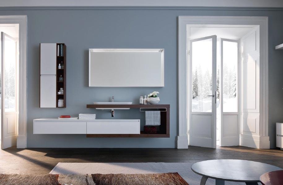 мебель для ванной в современном стиле-дизайн