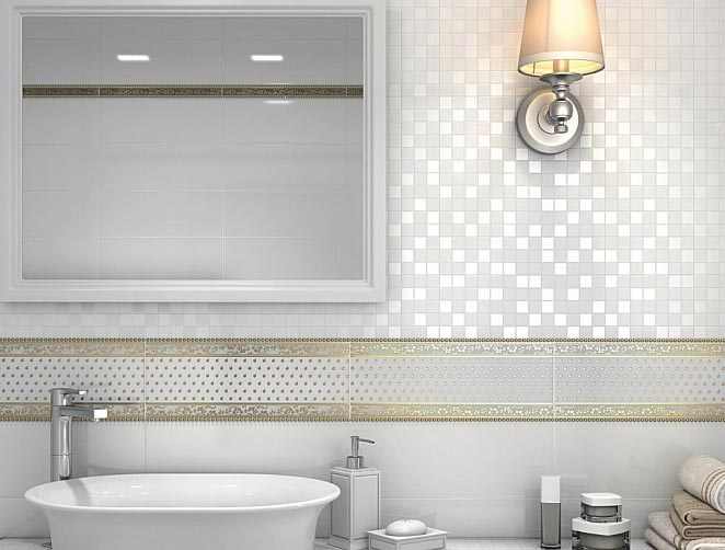 мозаика керама марацци для ванной-дизайн
