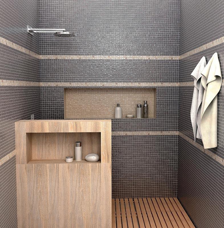 мозаика керама марацци для ванной-пример