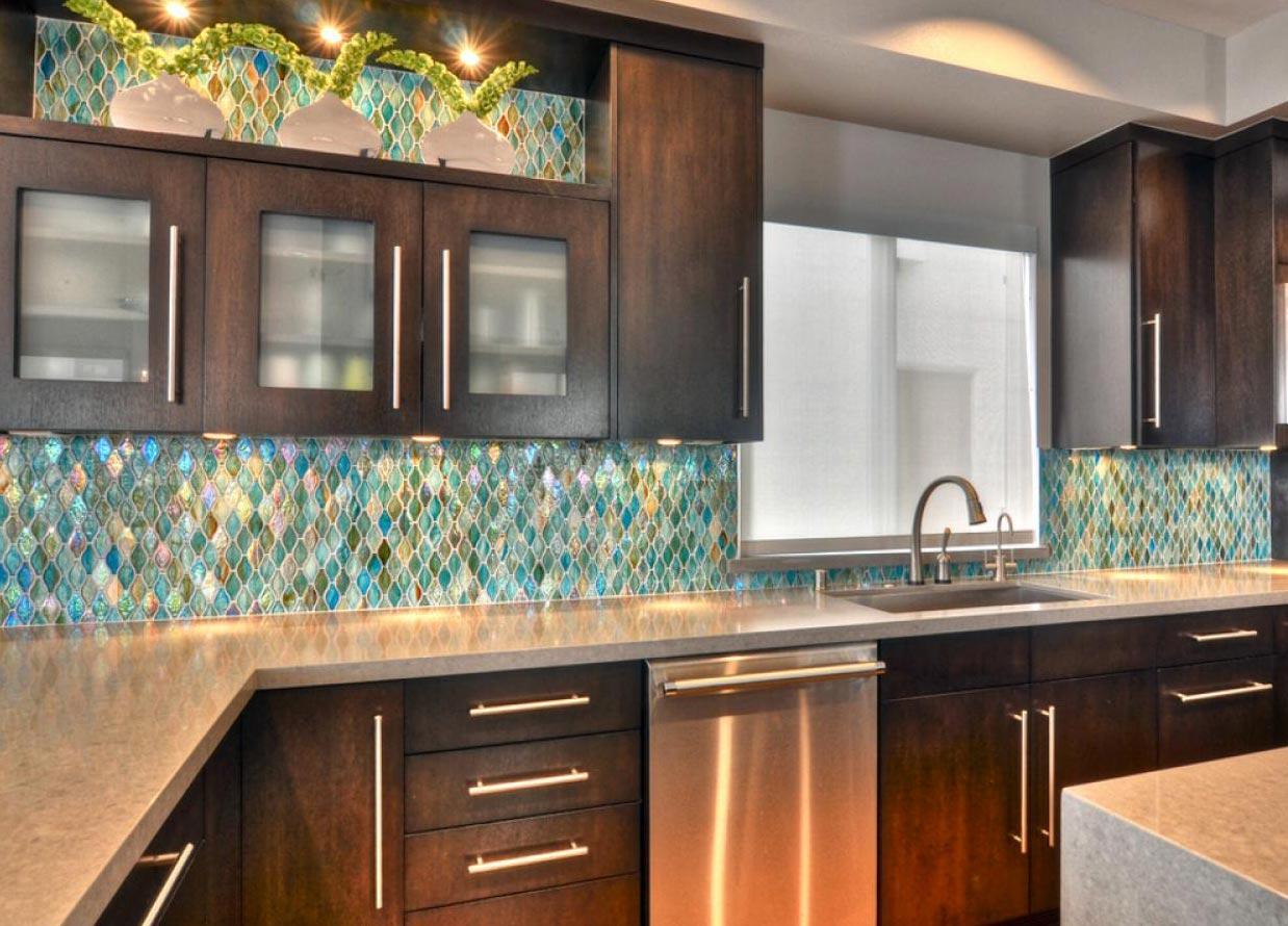мозаика на кухне интересные идеи