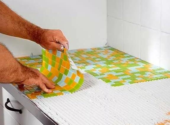 мозаика в ванной-нюансы