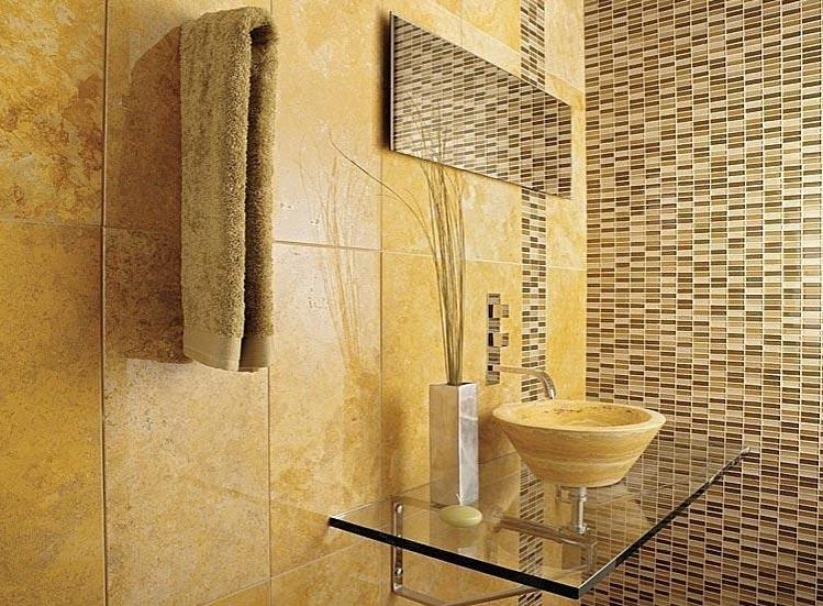 мозаика в ванной варианты