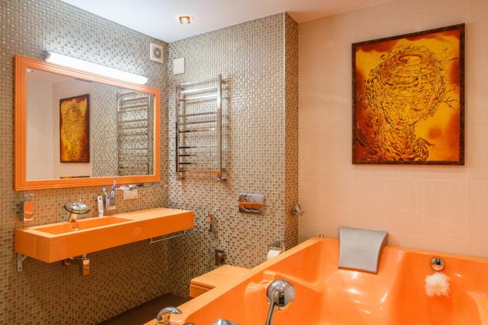 Плитка мозаика для ванной: особенности выбора