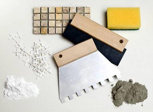 мозаики в ванной-необходимые инструменты