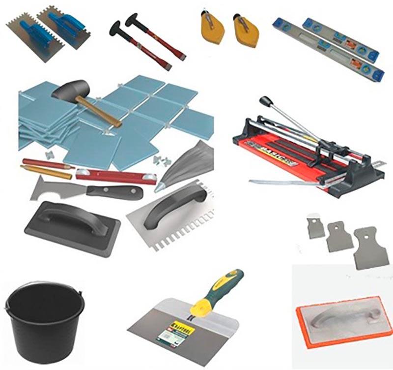Инструменты для укладки кухонного фартука