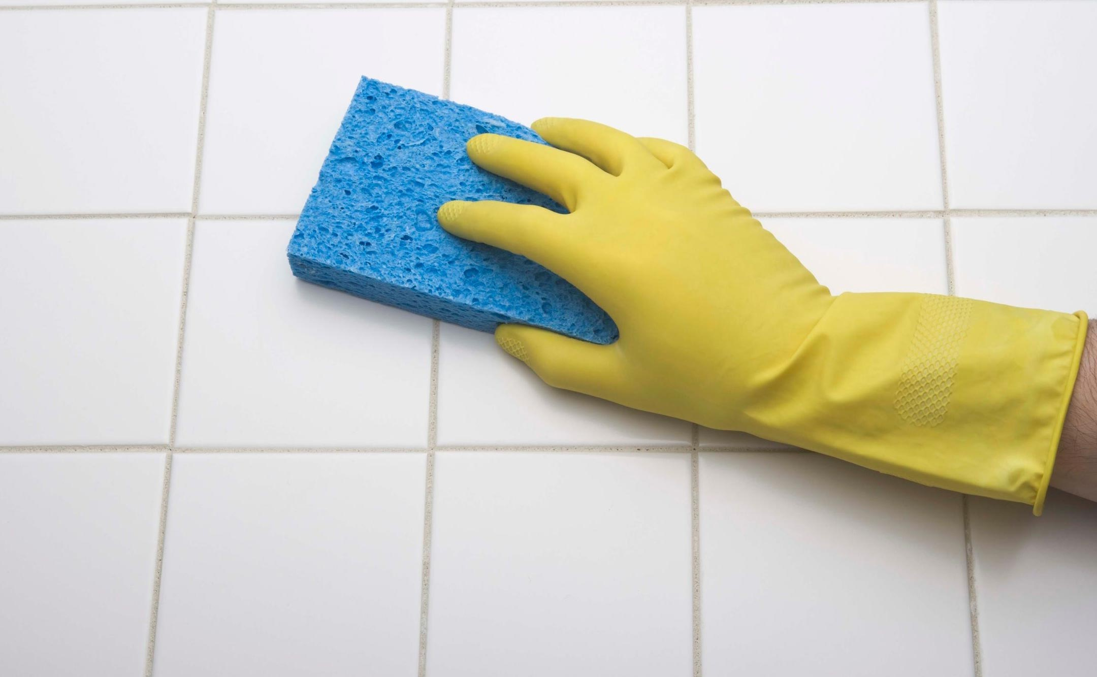 отмыть плитку в ванной после чистки