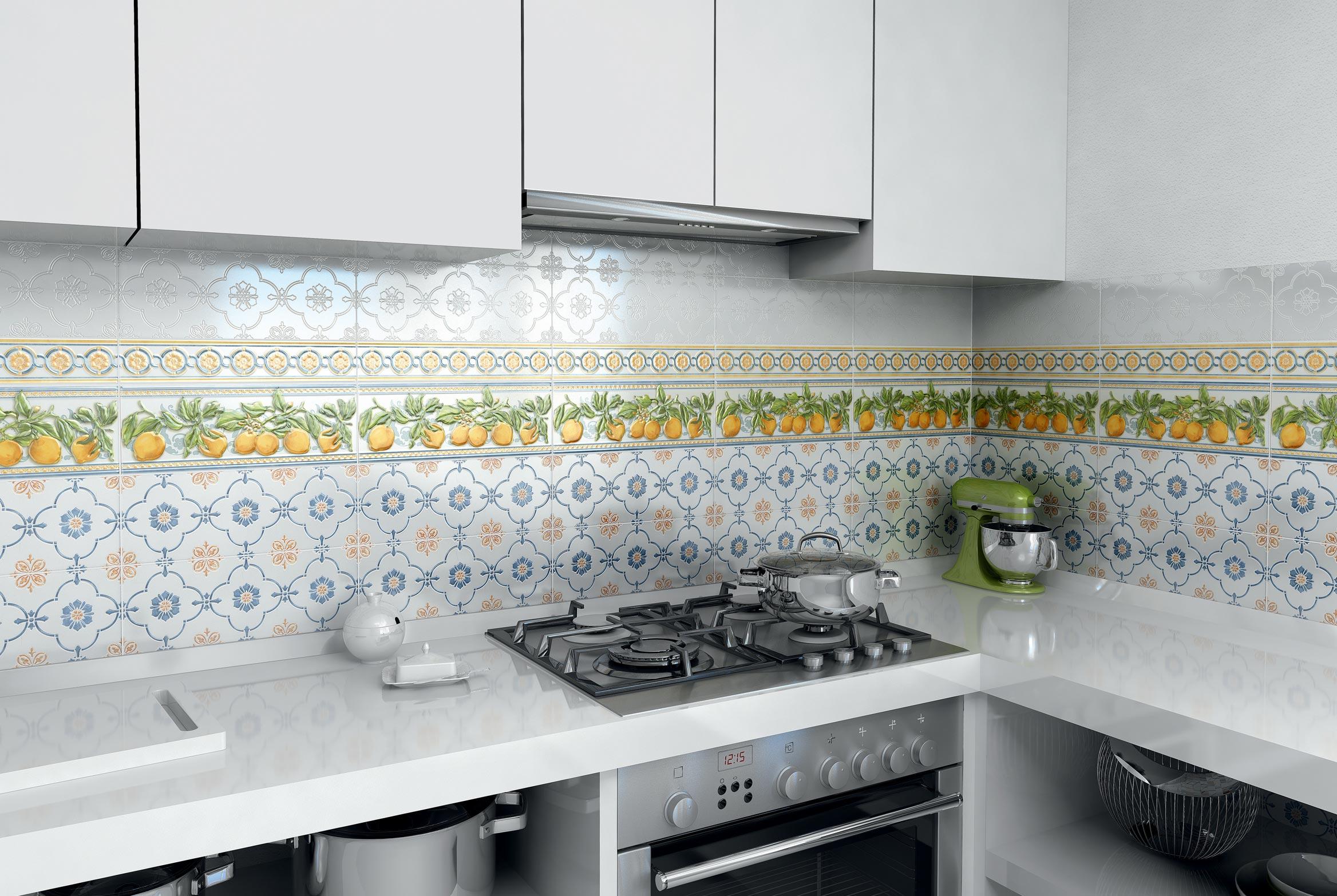 керама марацци для кухни-дизайн