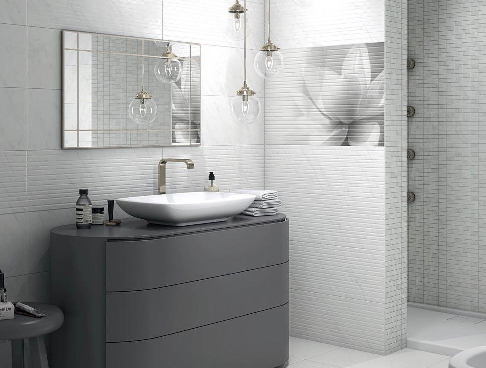 плитка Керама Марацци для ванной-дизайн, интерьер