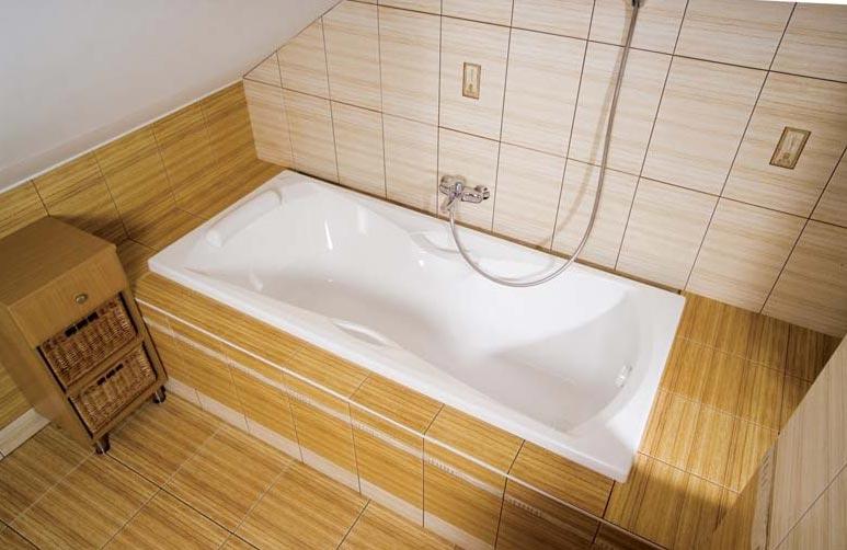 прямоугольные плиты для ванной
