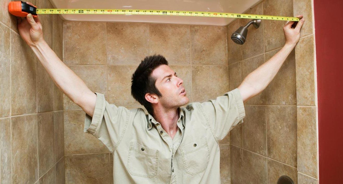 расчет плитки для ванной