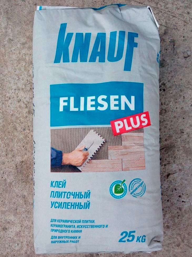Технические характеристики клея Кнауф Флизен