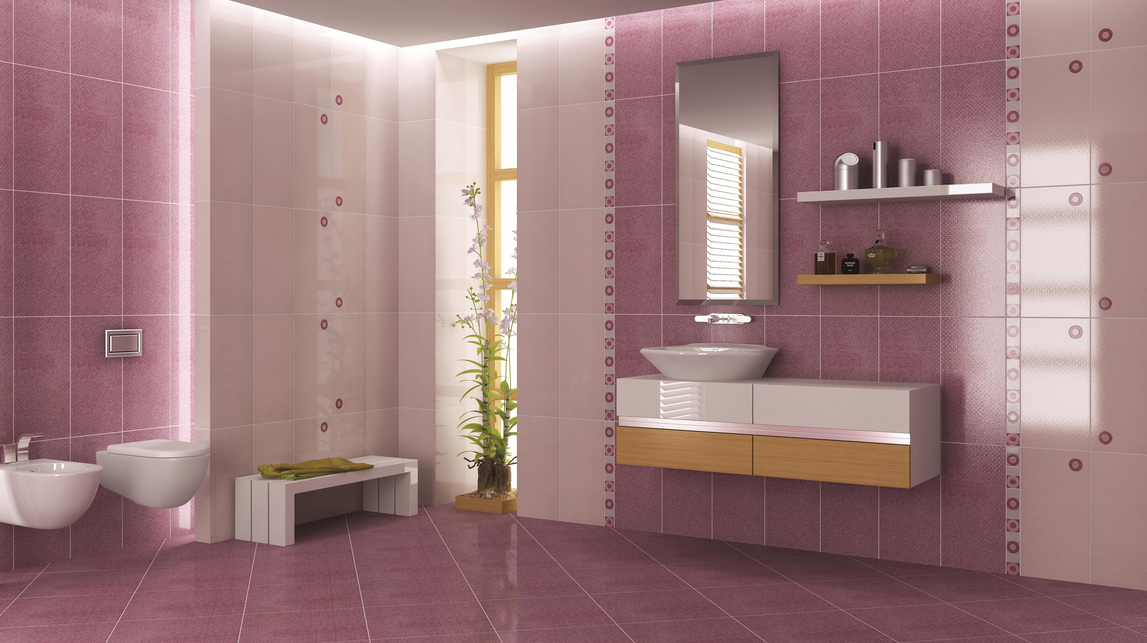 ванная из керамической плитки
