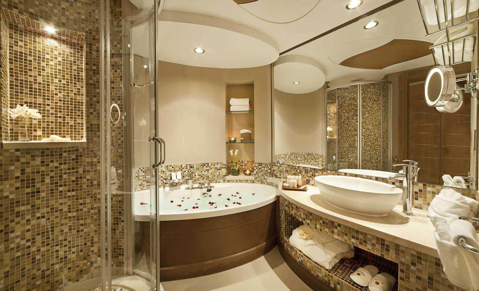 ванная комната мозаика дизайн