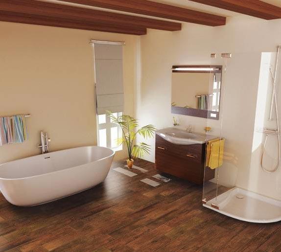 ванная под дерево 10