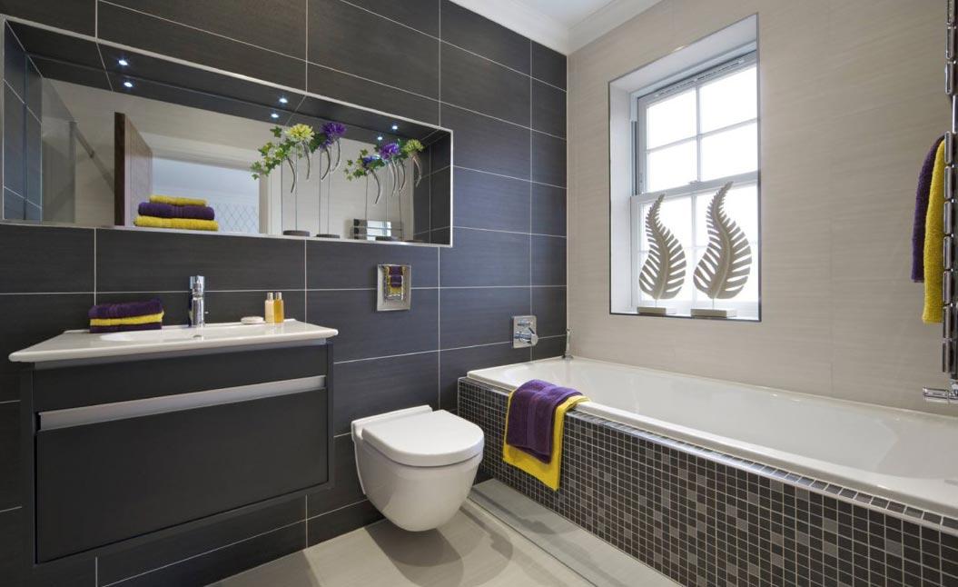 современная ванная-дизайн