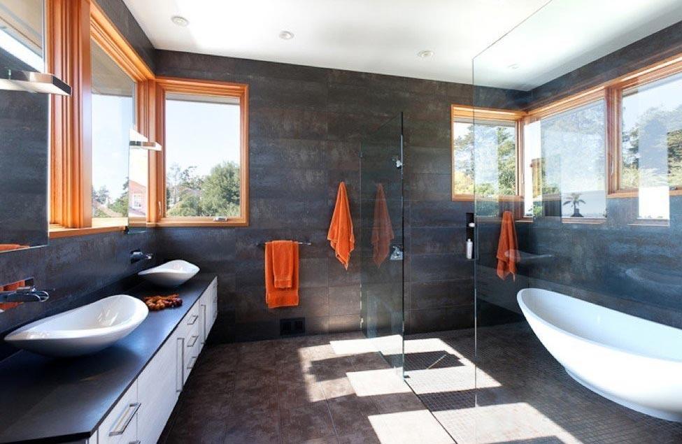 ванная в современном стиле дизайн-варианты