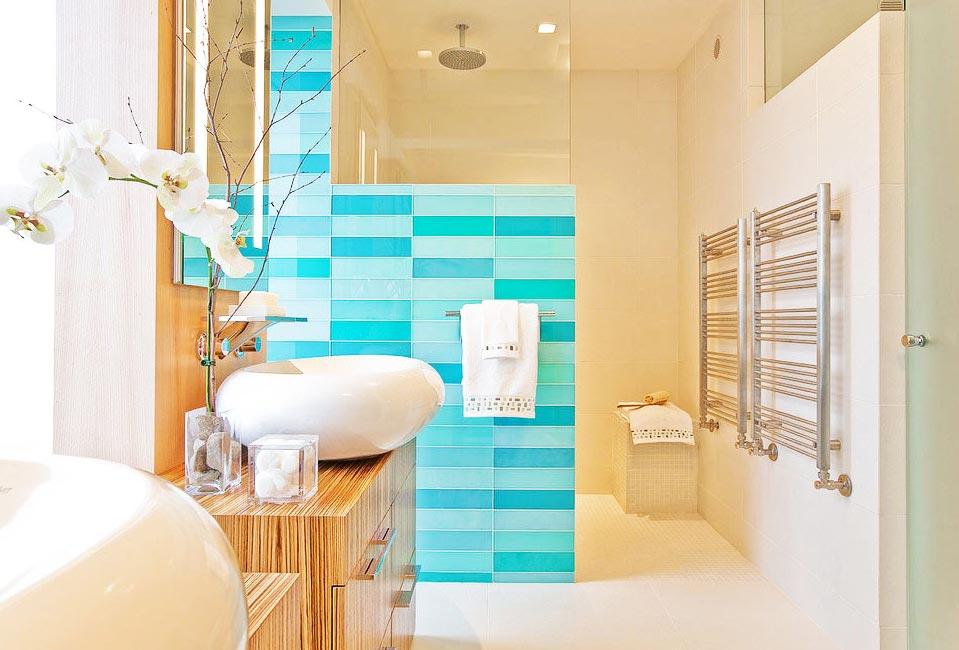 ванная в современном стиле дизайн