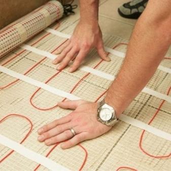 Теплый пол в ванной под плитку: особенности монтажа и советы от профессионалов