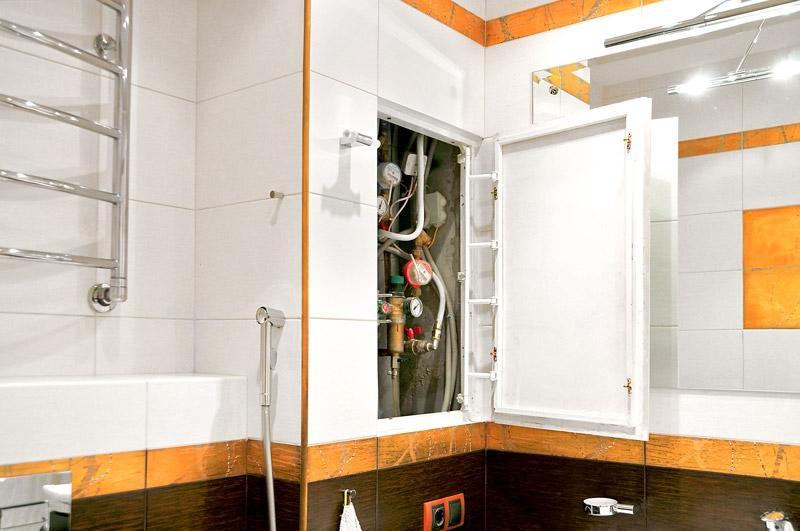 Люк для ванной под плитку