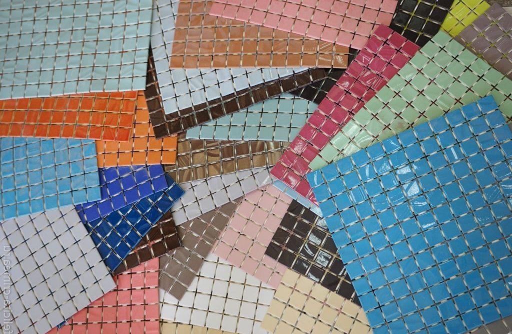 Форматы мозаичной плитки