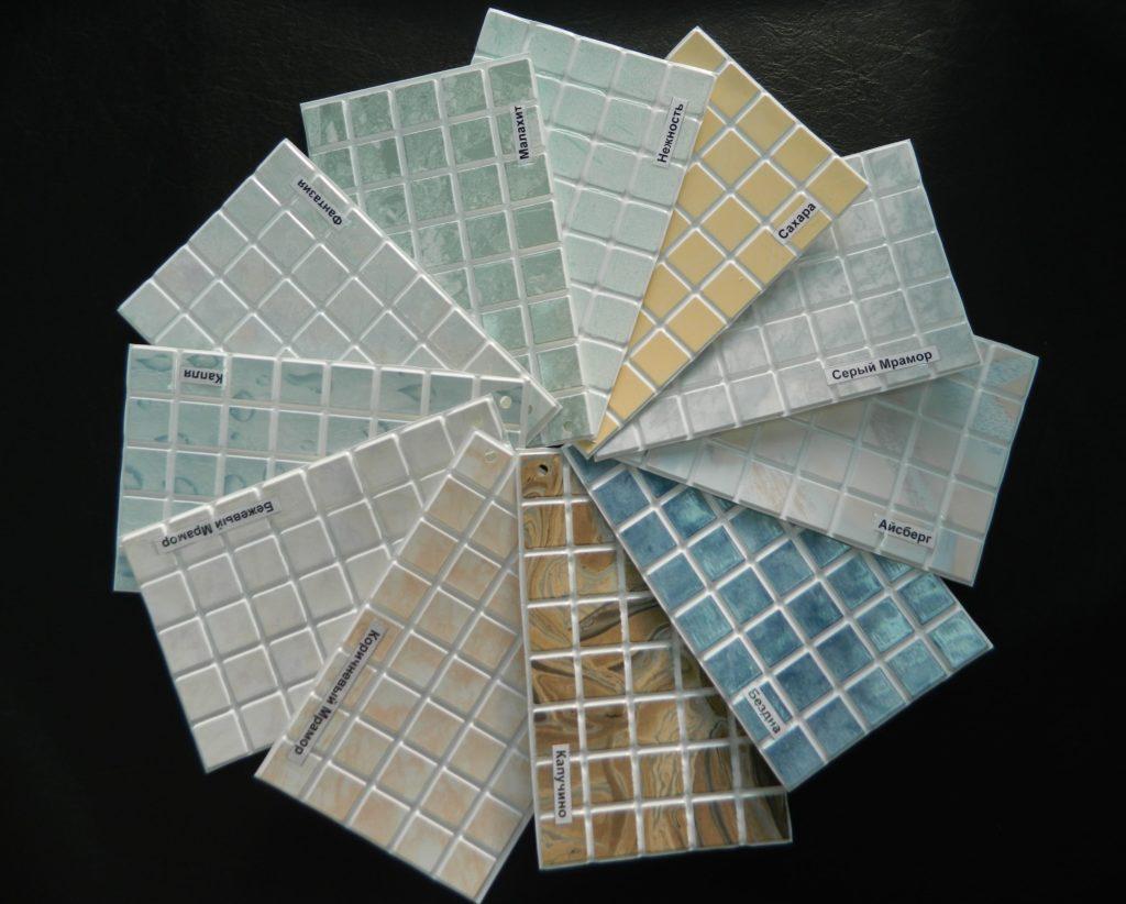 Форматы мозаичной плитки на кухню