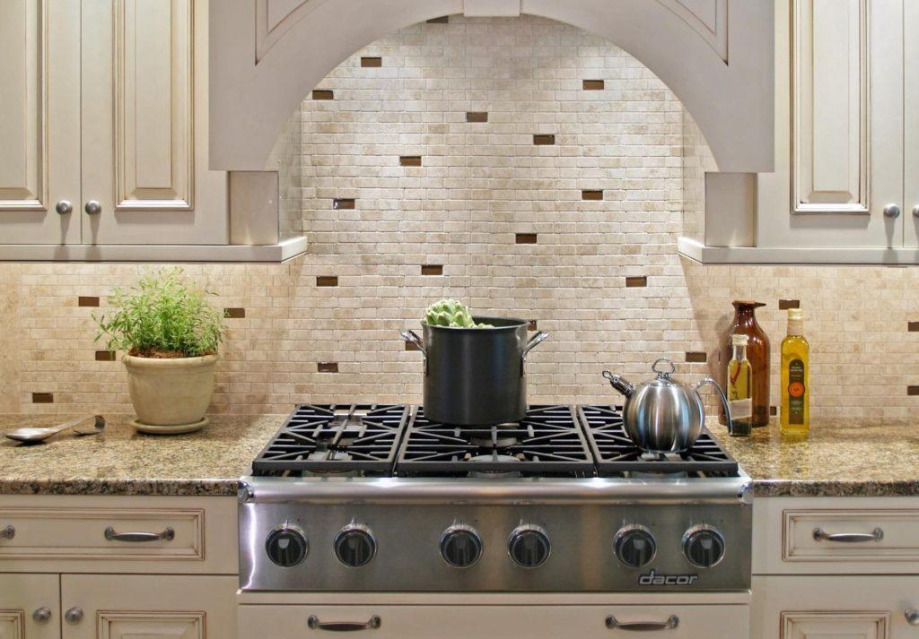 Каменная плитка мозаика для кухни
