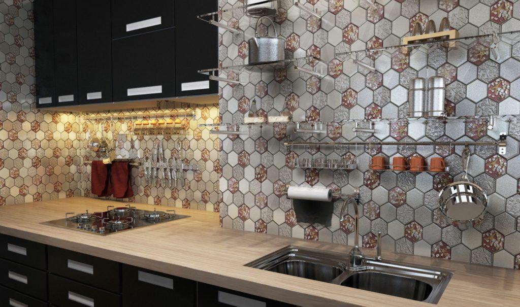 Керамика мозаика для кухни