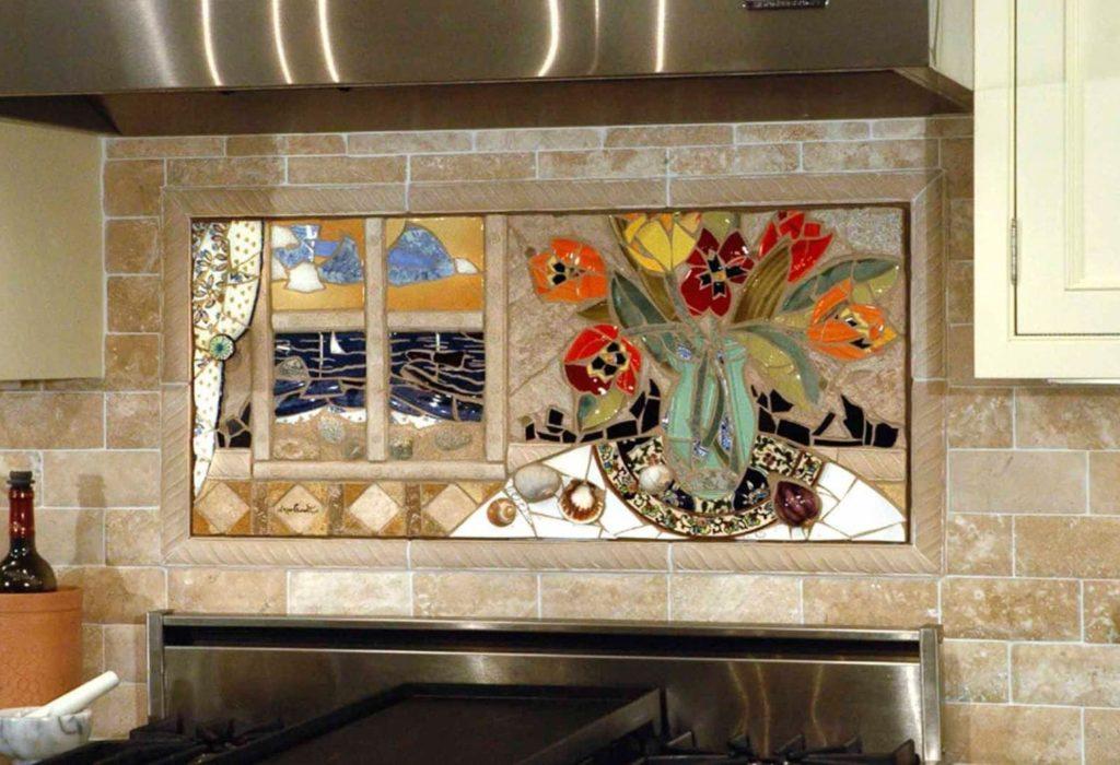 Мозаичные панно для кухни