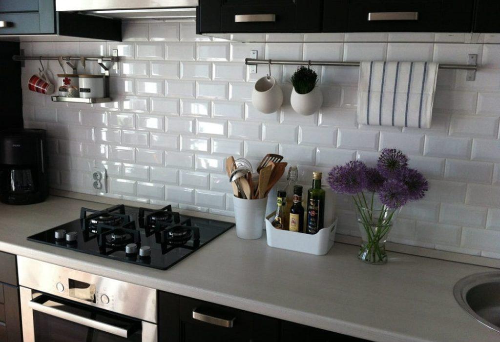 Мозаика плитка на кухне