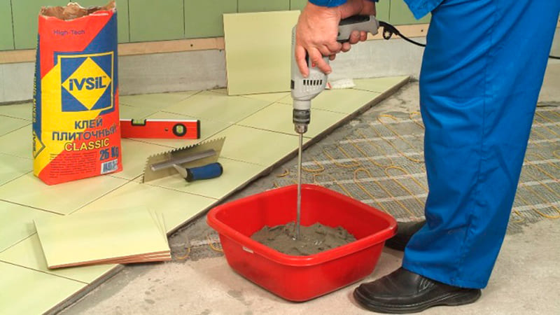 Разновидности и особенности клеевых составов для плитки