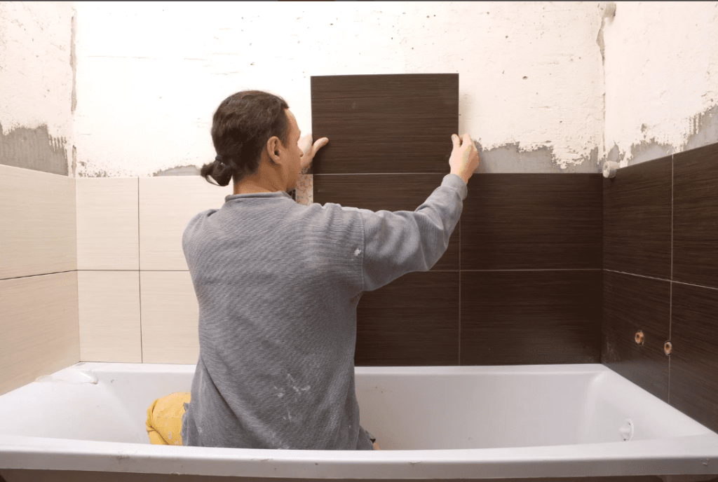 Зачем выравнивать стены под укладку плитки