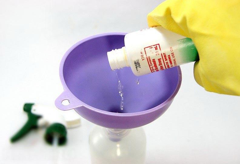 аммиак для чистки швов между плиткой в ванной