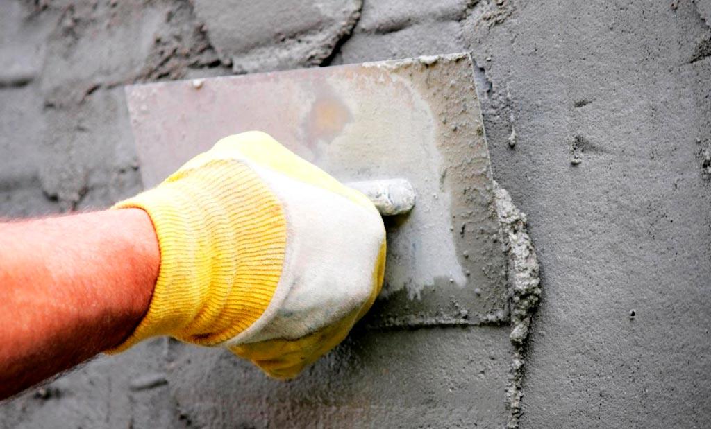 Цементные штукатурки для ванной под плитку
