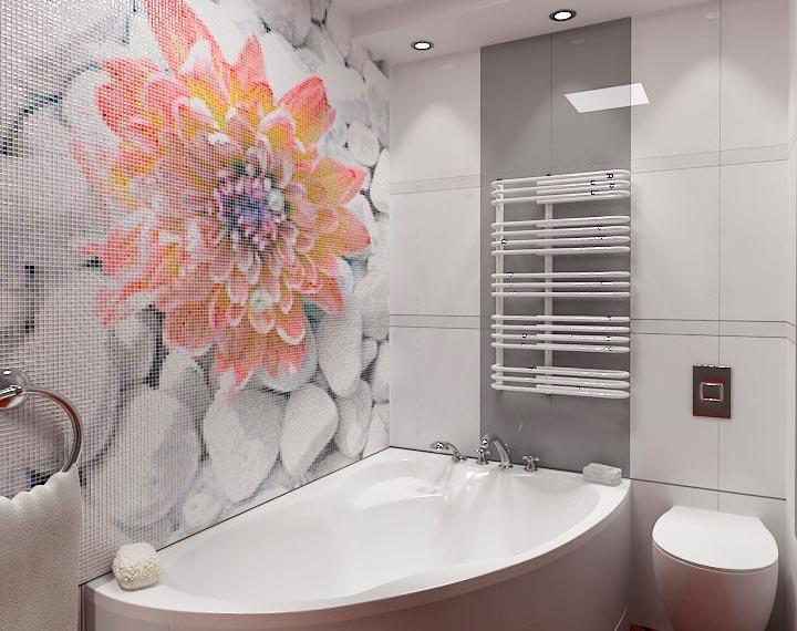 Другие варианты дизайна панно в ванной 24