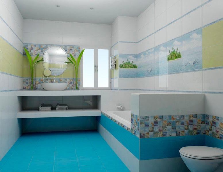 Другие варианты дизайна панно в ванной 26